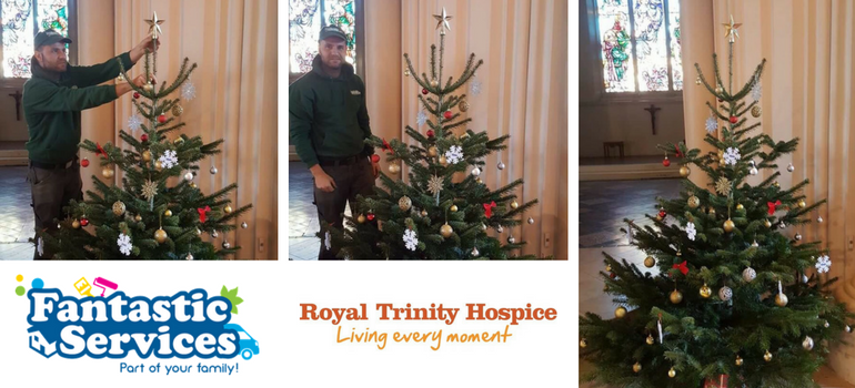 Fantastic Services charity work for the Royal Trinity Hospice London
