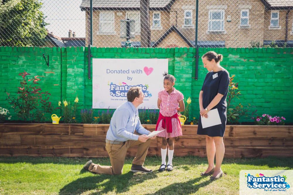 John Burn's school - Fantastic Gardeners project pictures 30