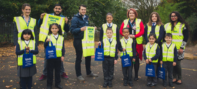 fantastic serices road safety jackets campaign