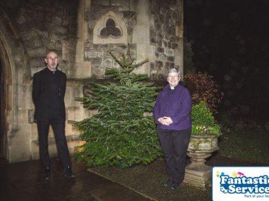 Royal trinity hospice christmas tree delivery service 1