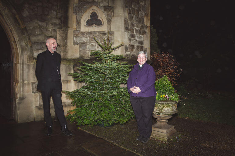 royal trinity hospice christmas tree delivery by fantastic services