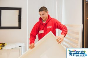 Furniture assembly by Fantastic Removals 5