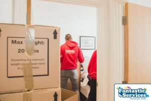 Furniture assembly by Fantastic Removals 6