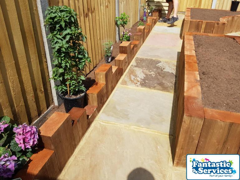 Landscaping job Fantastic Gardeners 1