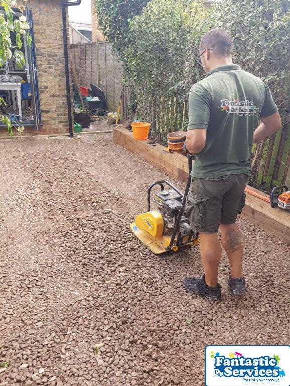Landscaping job Fantastic Gardeners 12