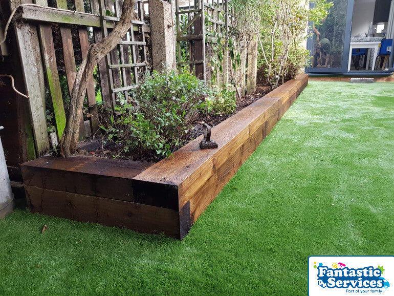 Landscaping job Fantastic Gardeners 4
