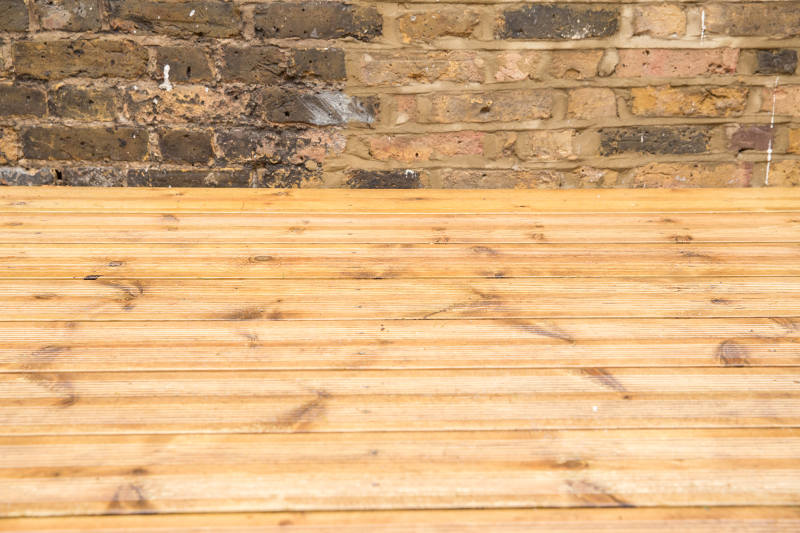 jet washed decking