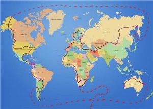 trepic going around the world