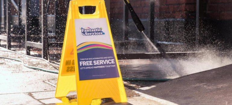 Fantastic Services Free Jet Wash