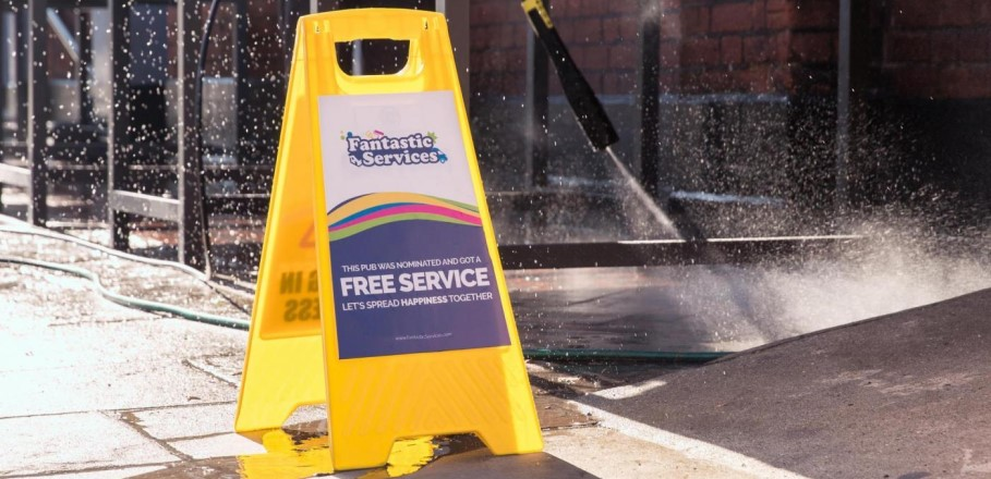 Fantastic Services Free Jet Wash