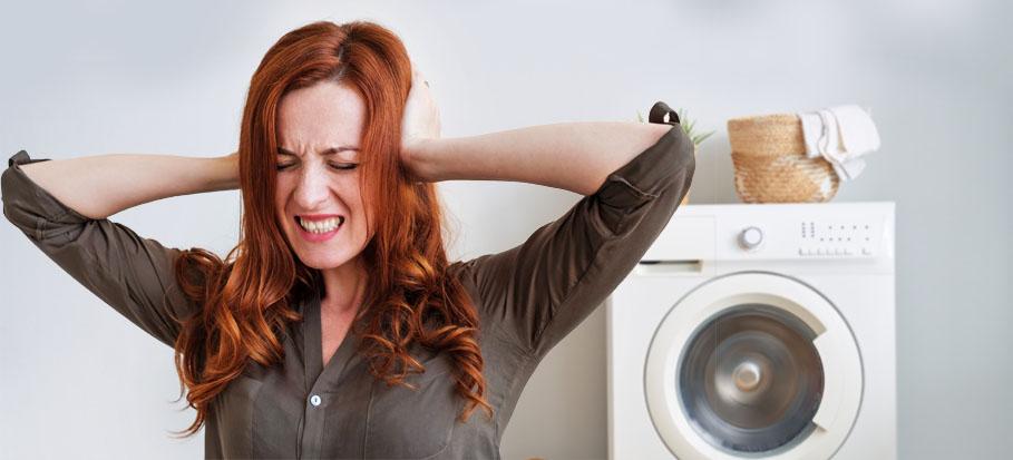 دلیل صدای زیاد ماشین لباسشویی چیست؟