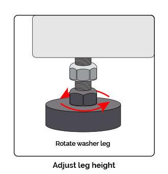 adjust leg height graphic