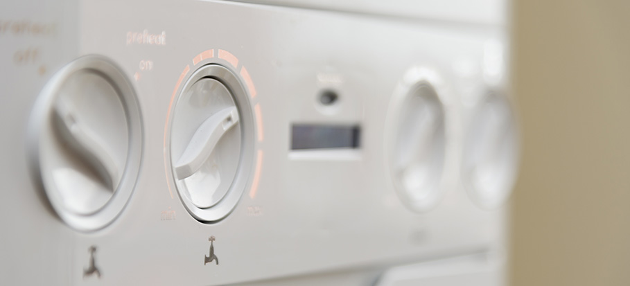 boiler control panel - pump overrun