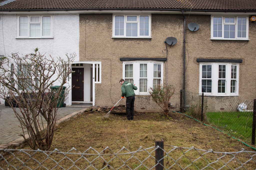 fantastic gardeners working