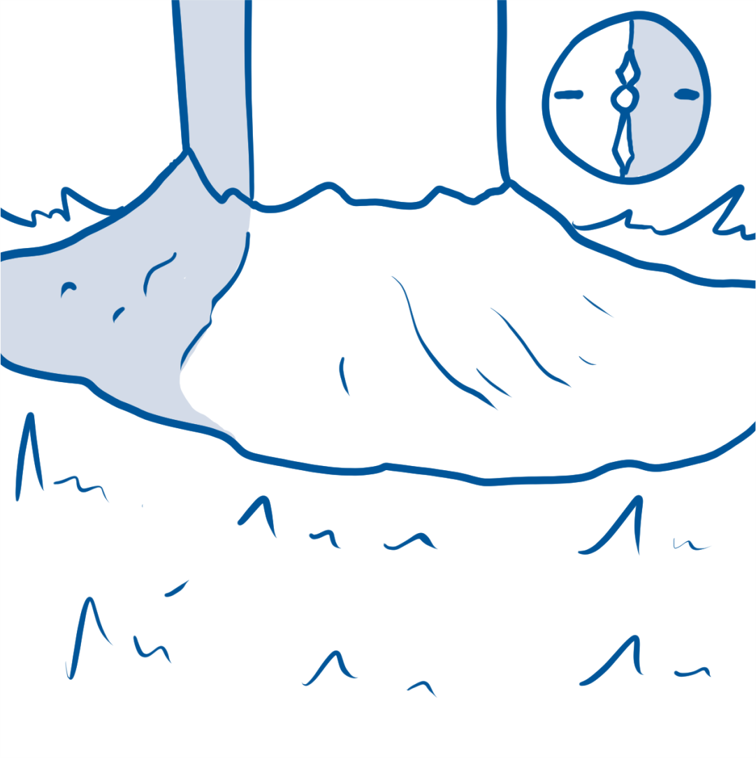 drawing of ground