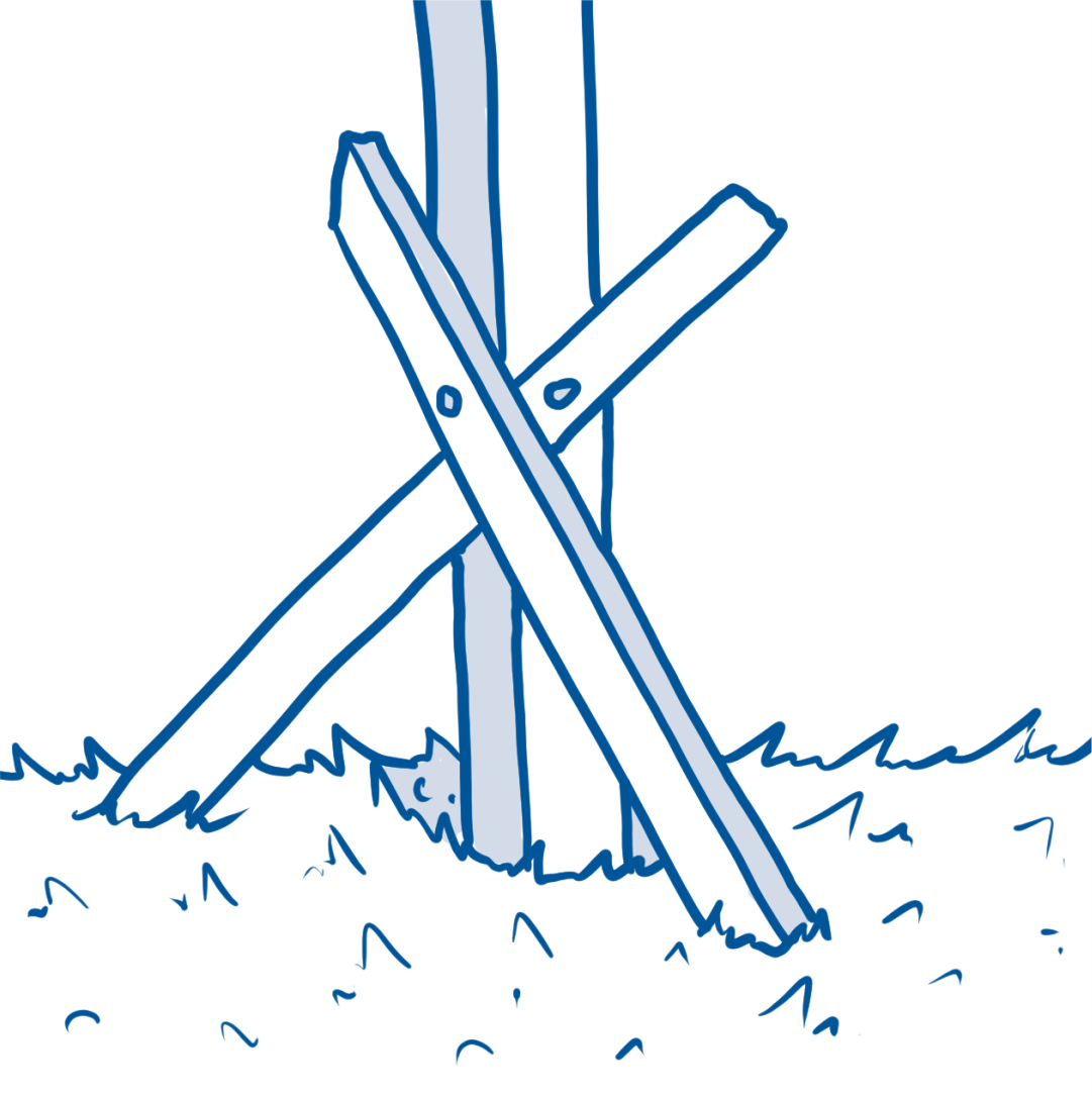 drawing of planks