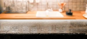 cleaning slate countertops