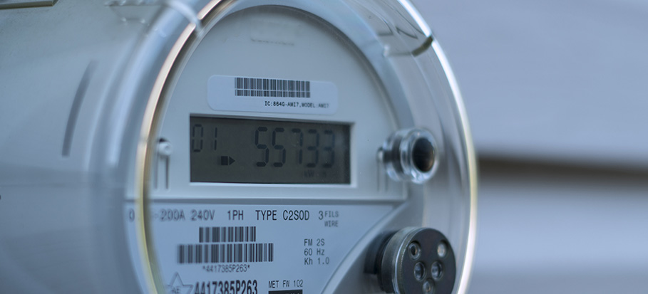 electricity meter - what does rEd mean