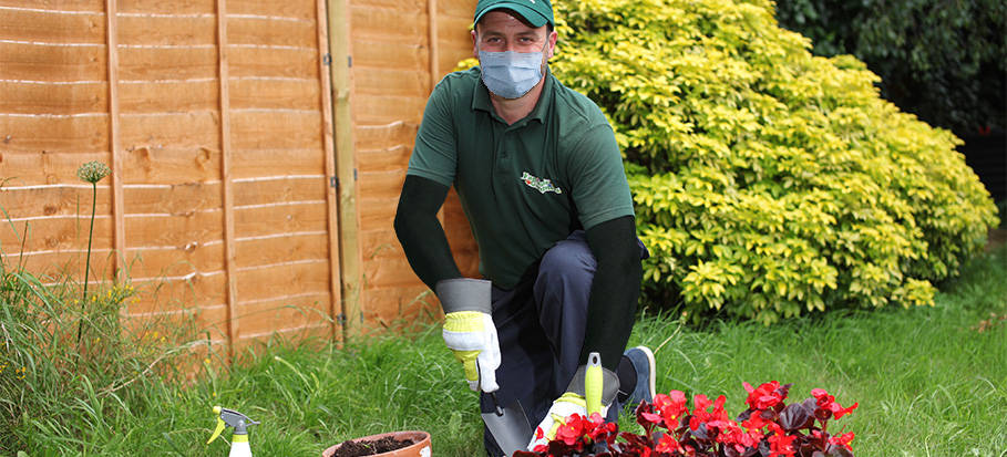 Can your gardener work during lockdown?