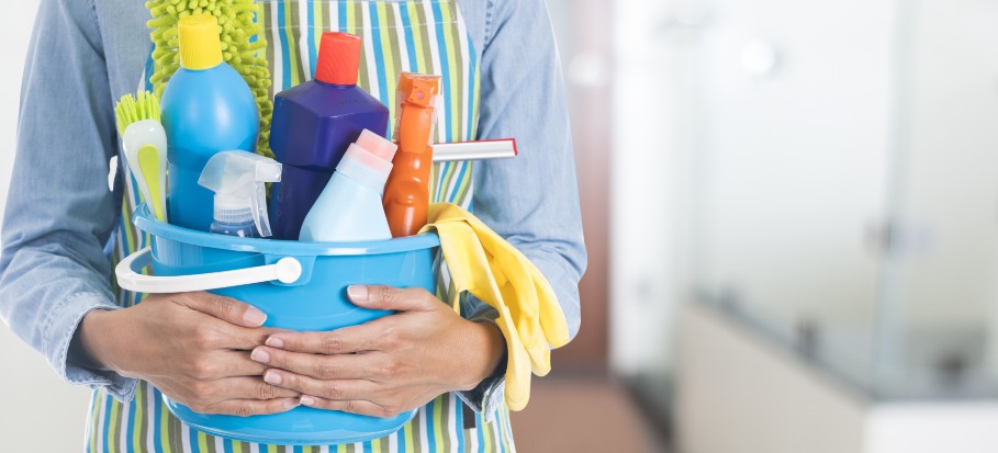 Places in your home to clean before and after guests.