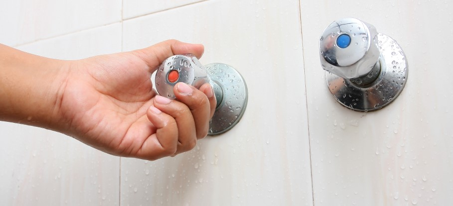 shower going hot and cold on combi boiler