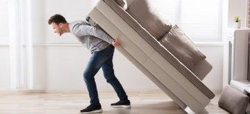 how to get a sofa through a small door