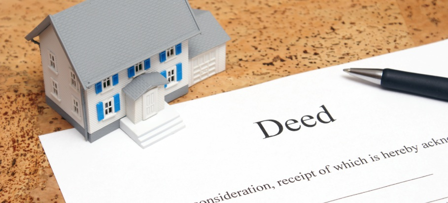 Securing hard copies of property deeds at home