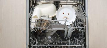 dishwasher not washing